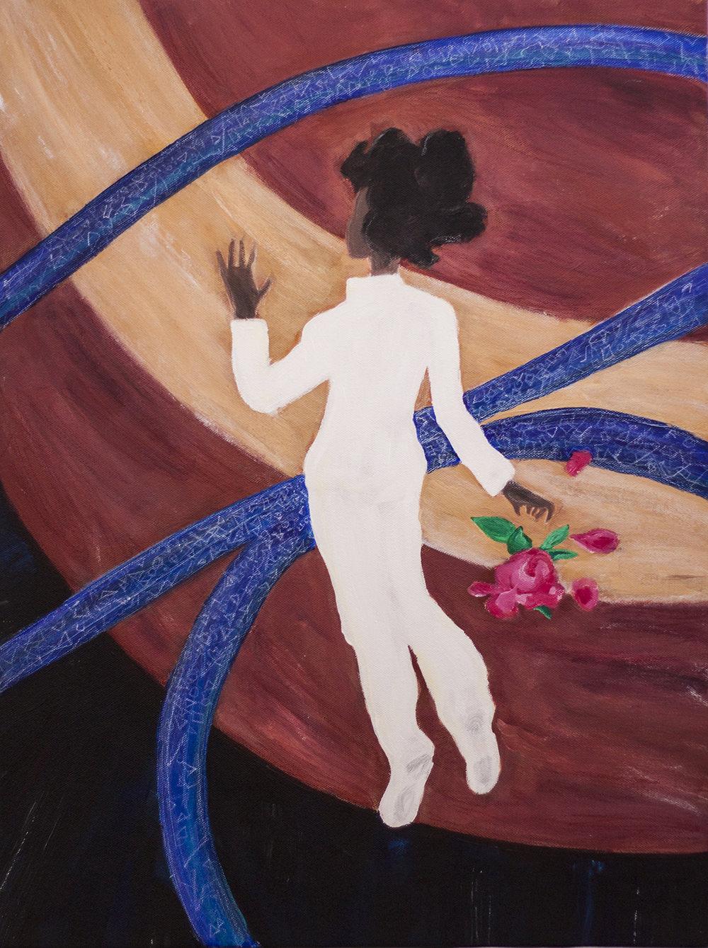 Cassandra, Acrylic on canvas