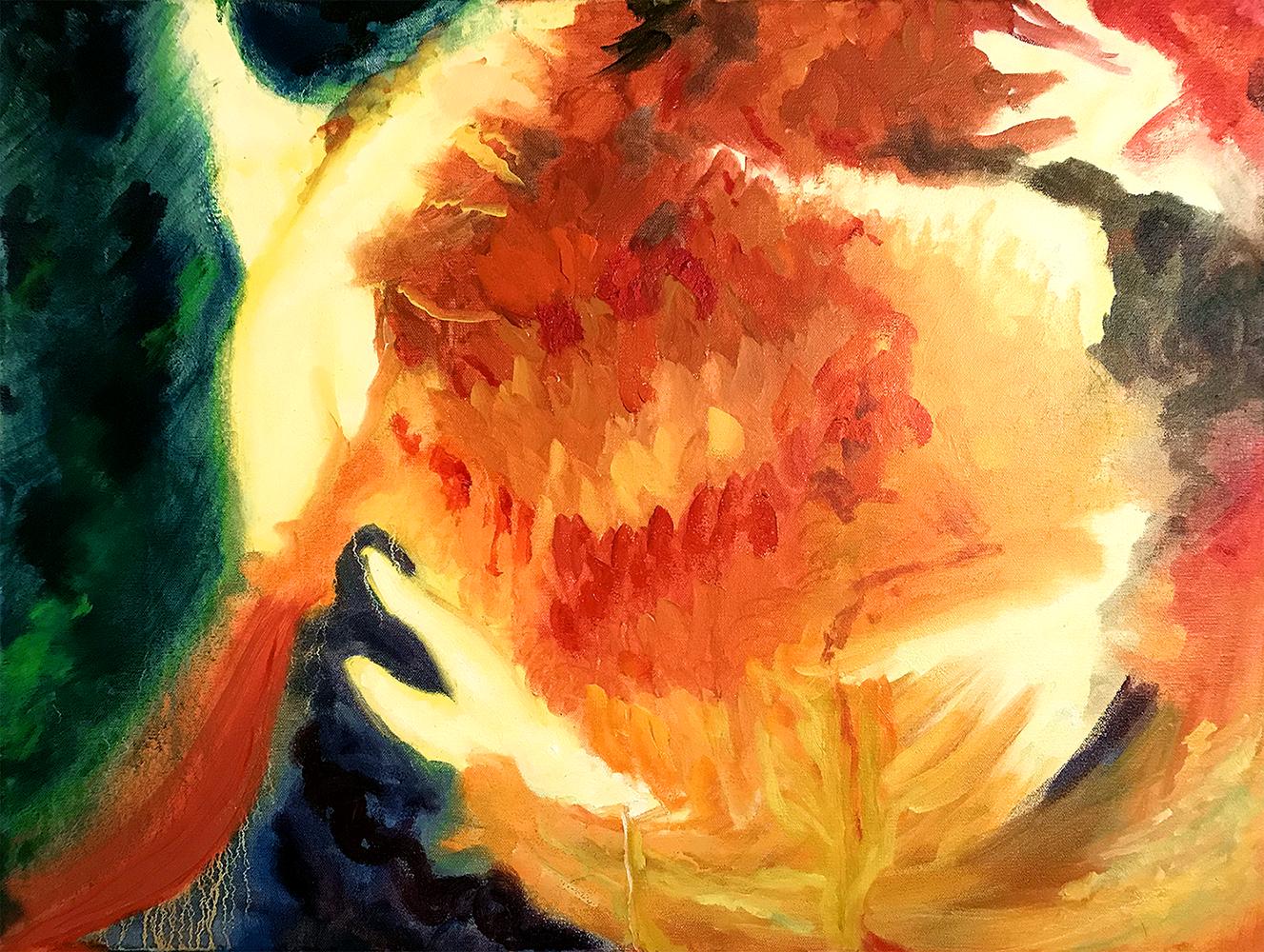 Alchemy, Acrylic on canvas